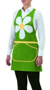 grembiule verde