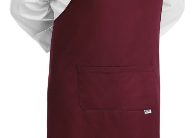 1904003C BIG APRON BORDEAUX