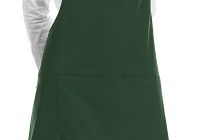 6000004C SHORT BIP APRON BOTTLE GREEN