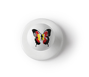7400426L BUTTON BUTTERFLY